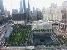 National Memorial 9-11, New York City, USA