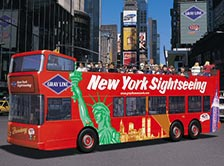 Hop-On-Hop-Off Busse in New York
