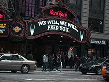 Hard Rock Cafè a New York