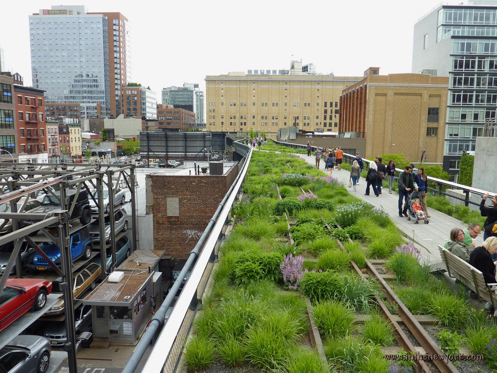 New york city parks for New york city highline