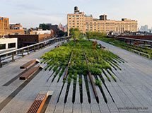 High Line Park, New York City, USA