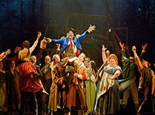 Musical Les Miserables in New York