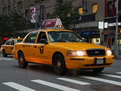 Taxicabs à New York