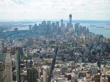 Aussichtsplattform des Empire State Building, New York