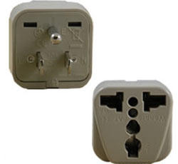 Adapter for U.S. sockets, New York City